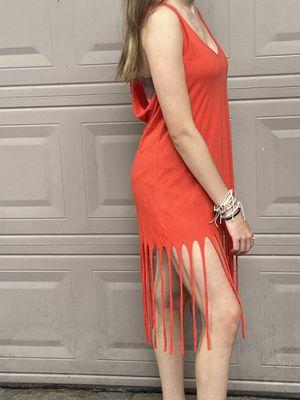 Fluxus Orange Fringe Top for Sale in Conroe, TX