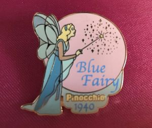 Disney Pin #31 Blue Fairy Pinocchio for Sale in Fremont, CA