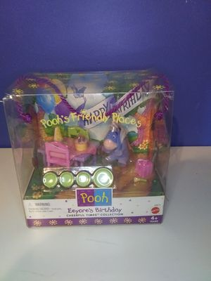 Vintage Winnie The Pooh Eeyores Birthday Party Playset for Sale in Mason, OH