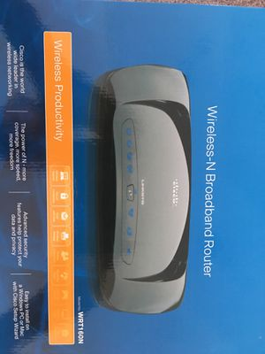 Linksys Wireless N Broadband Router- BRAND NEW for Sale in Port St. Lucie, FL