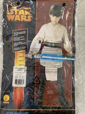 Anakin Skywalker costume small boys size 4t 5t 6 for Sale in Boynton Beach, FL