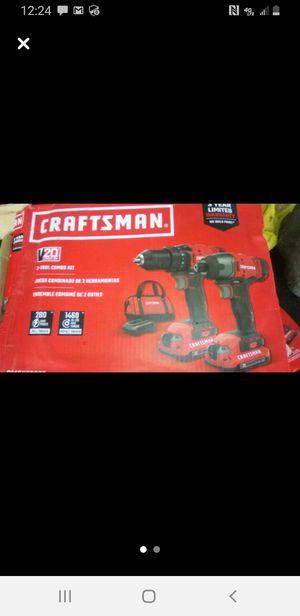 Craftsman 20v drill impact kit (brand new) for Sale in Denison, TX