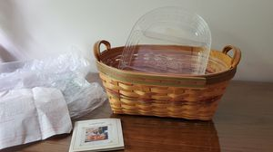 Longaberger large Autumn Reflections Basket for Sale in North Olmsted, OH