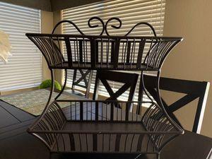 Metal basket for Sale in Payson, AZ