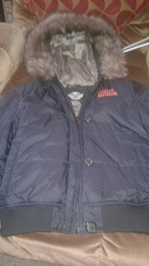 Womens winter Harley Davidson winter Jacket, New & Great condition! for Sale in Varna, IL