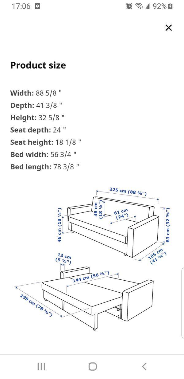 IKEA bed sofa