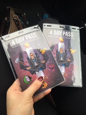 Nerds years eve 4 day pass for Sale in Dallas, TX