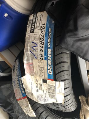 4 Brand New Falken Sincera Size 14 Tires. Great for boat trailer or camp trailer for Sale in Staten Island, NY