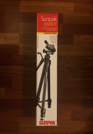Camera tripod Sunpack 6601UT for Sale in Chicago, IL