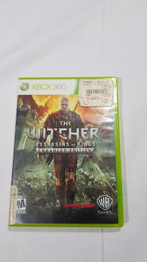 Xbox 360 The Witcher2 Assassins of Kings for Sale in Altamonte Springs, FL
