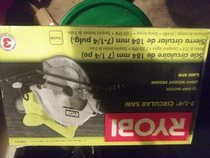 Ryobi Circular Saw brand new for Sale in Mount Laurel Township, NJ