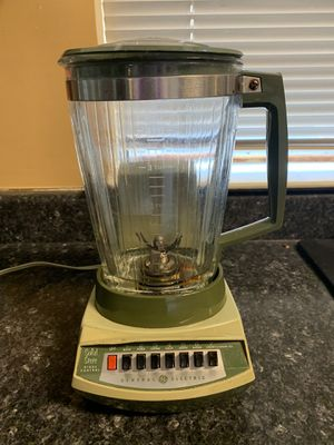 "7x10x12 antique vintage General Electric Avocado green Mid-Century Retro Atomic Era kitchen blender ""Works"". 35.00. 😀Johanna 212 North Main Street Bu for Sale in Buda, TX"