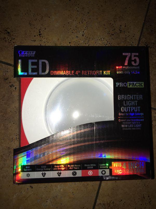 """LED dimmable 4"""" retrofit kit"""