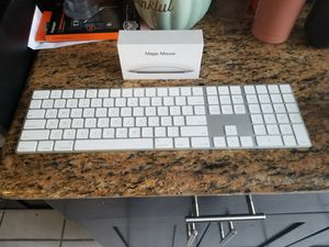 APPLE MAGIC KEYBOARD AND NEW MAGIC MOUSE for Sale in Glendale, CA
