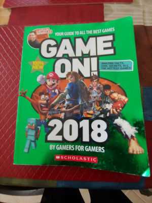 LIKE NEW Scholastic Game On 2018 Book for Sale in Tampa, FL