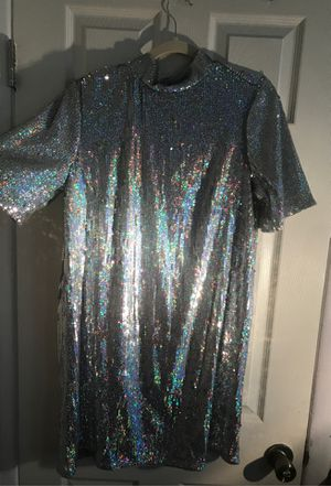 H&M mini sequin dress with cutout back for Sale in Newark, NJ
