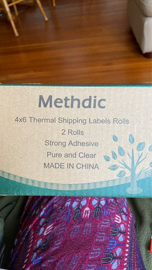 A pack of Two Shipping Label Rolls! for Sale in Danbury, CT