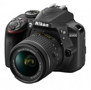 Nikon D3400 Body + AF-P 18-55mm VR for Sale in Brooklyn, NY