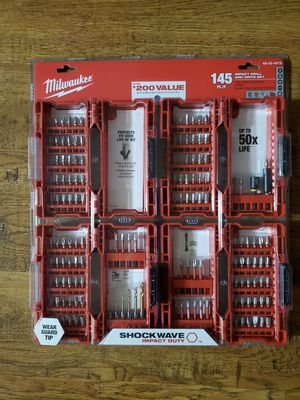 Brand new milwaukee 145 impact drill and drive set for Sale in Auburn, WA