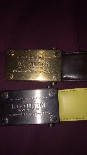 Louis Vuitton Belts for Sale in Pittsburgh, PA