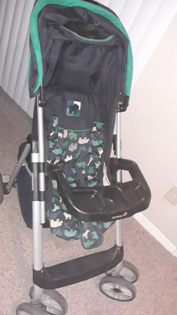 Carseat and stroller set