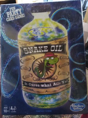 Snake Oil Card Game New In Package for Sale in Painesville, OH