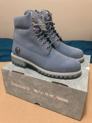 Fabolous x VILLA x Timberland Blue Boot - Men Size 7.5 for Sale in Philadelphia, PA