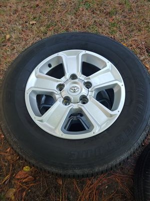 Toyota Tundra wheels and tires for Sale in Norfolk, VA