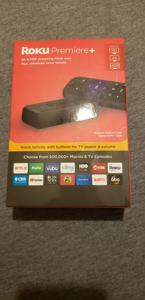 Roku Premier Plus, HD, 4K, HDR for Sale in Manassas, VA