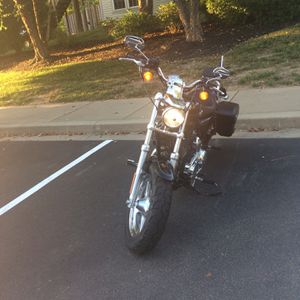 Harley Davidson 2015 sportster 1200 C for Sale in Rockville, MD