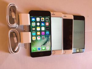 Factory unlocked apple iphone 6, store warranty 64 gb for Sale in Medford, MA