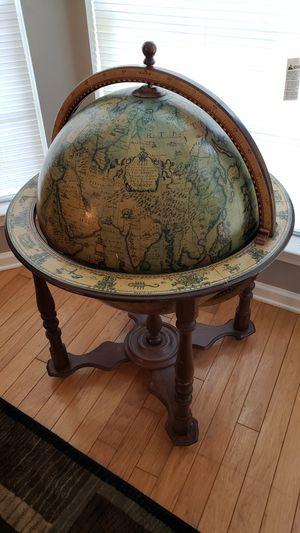 Antique globe bar for Sale in Ellenwood, GA