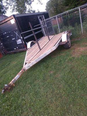 Kayak trailer holds up to 8 kayaks ready to go for Sale in Mount Vernon, OH