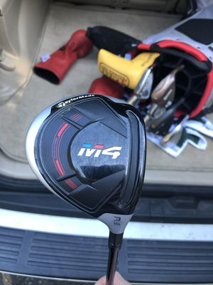 Taylormade M4 3 wood, barely used, like new. Includes headcover. Asking $150 for Sale in Oregon City, OR
