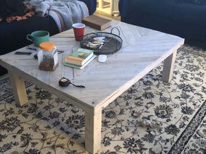 Homemade rustic wood coffee table for Sale in Fairfax, VA