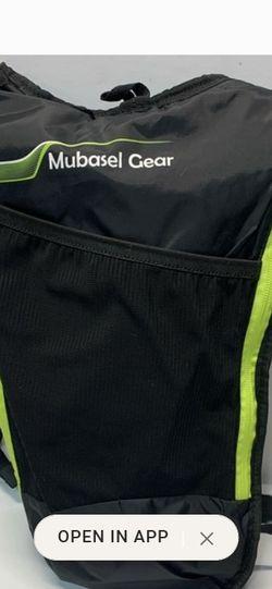 Mubasel Gear Hydration Backpack Pack w/ 2L Bladder for Sale in Laveen Village,  AZ
