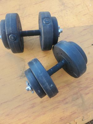 DUMBBELLS WEIGHTS for Sale in Riverside, CA