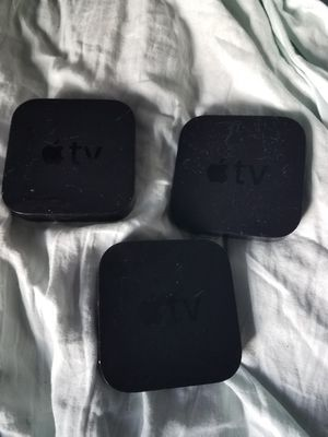 Apple tv series 4. 128 gb. 60 dollars each. Firm for Sale in Oakland Park, FL