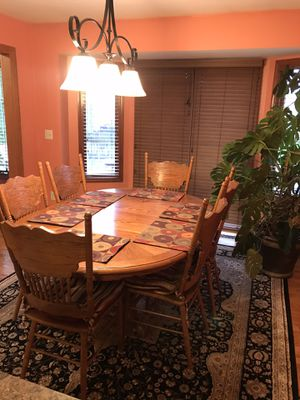 Dining room set (table + 6 chairs) for Sale in Macomb, MI