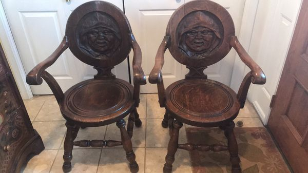 Antique tavern chairs