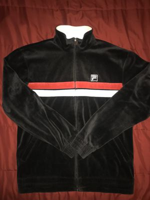 Urban Outfitters Vintage FILA Suede Track Jacket for Sale in Hartford, CT