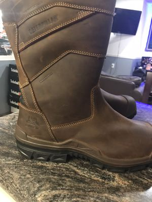 Work boots//Caterpillar//New/Men's Differential Waterproof Composite Toe Work Boot//size (13) //New//Without box //Special deal. for Sale in Morton Grove, IL