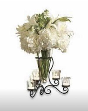 New in Box - Vase / Candle Centerpiece for Sale in Milford Charter Township, MI