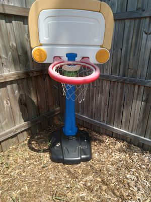 Basketball hoop and foot ball goal for Sale in St. Petersburg, FL