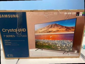 Samsung 43 crystal uhd tv 📺 V38 for Sale in China Spring,  TX