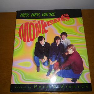 Hey Hey We're The Monkees Book Rare $35 price like new for Sale in Chicago, IL