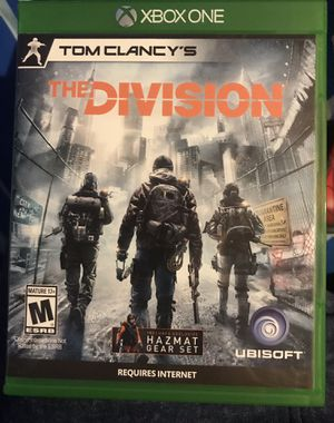 Tom Clancy's The Division Xbox One Game for Sale in RANCHO SUEY, CA