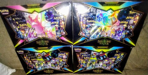 Pokemon TCG Shining Fates VMax Boxes for Sale in Clovis, CA