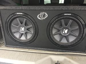 12 inch Kicker COMP VR1 for Sale in Burlington, NC