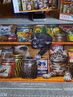 """"""" Spice Rack Kittens """" By Buffalo 750pc for Sale in Woodland,  WA"""